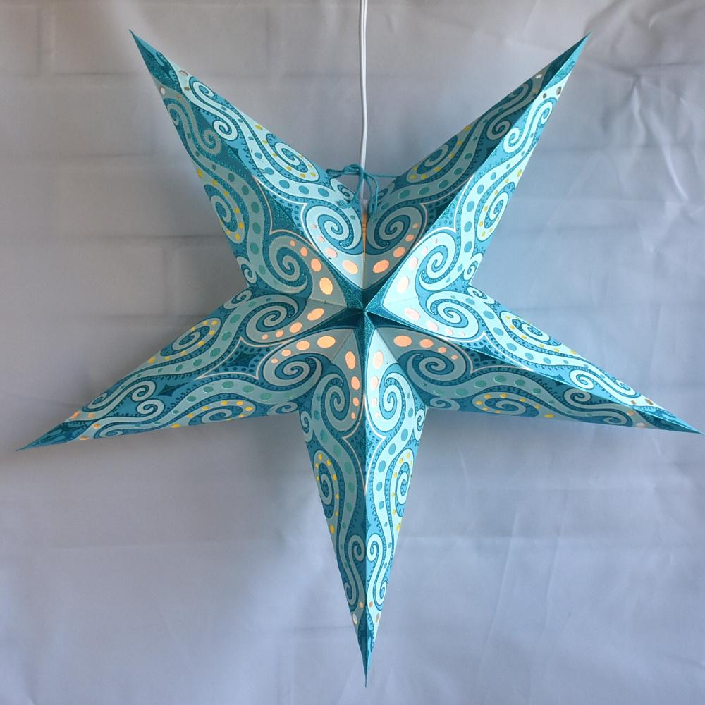 Blue Star Lanterns