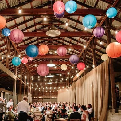 Rustic and Barn Wedding Ideas