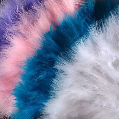 Marabou Ostrich Feather Hand Fans