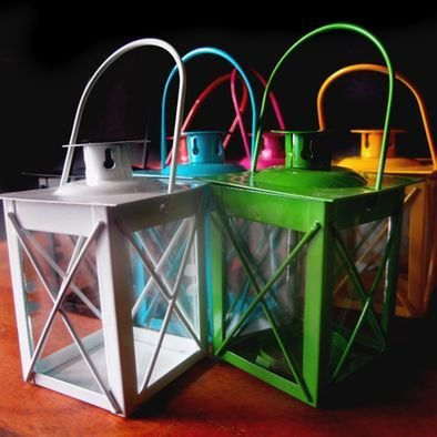 Mini Hurricane Lanterns