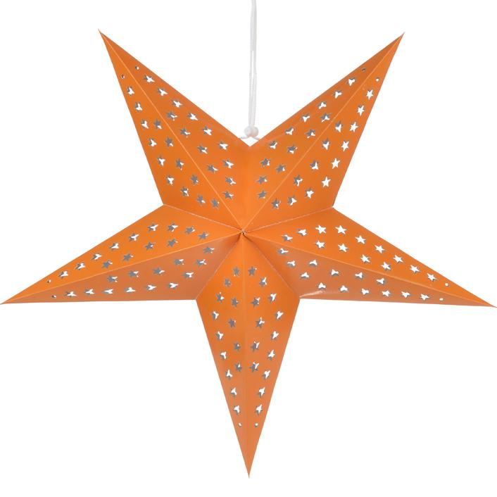 Orange Star Lanterns