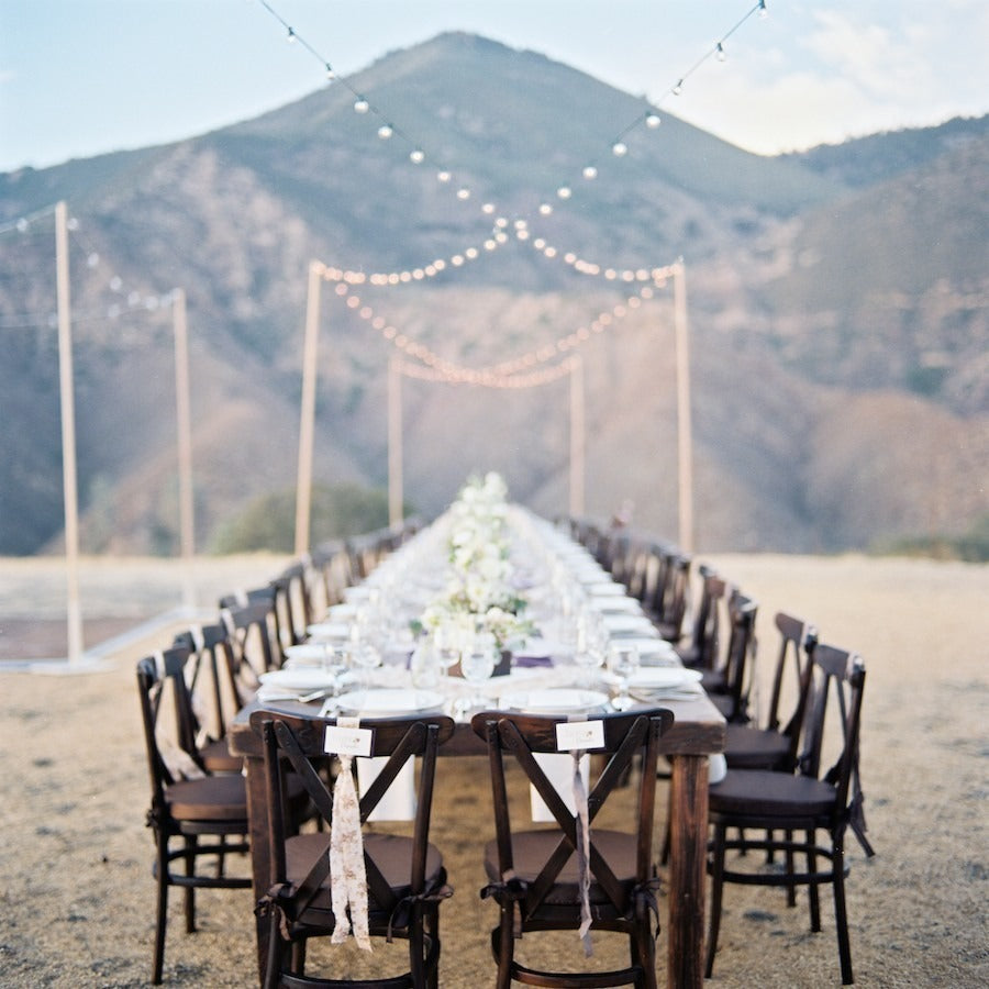 Creative and Dreamy Mountain Wedding Decorations
