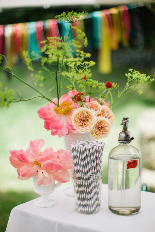 Cute ways to use paper straws