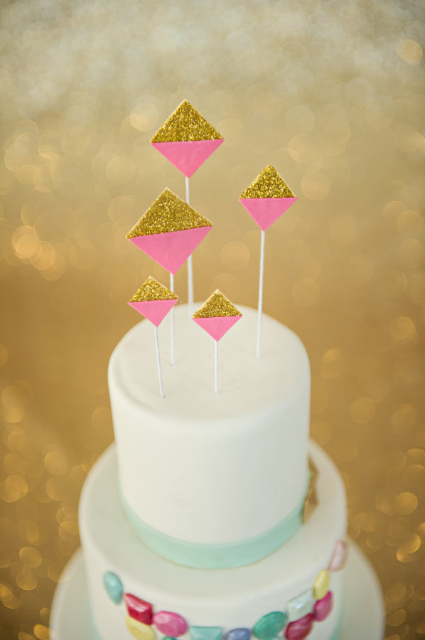 How to use glitters on your wedding