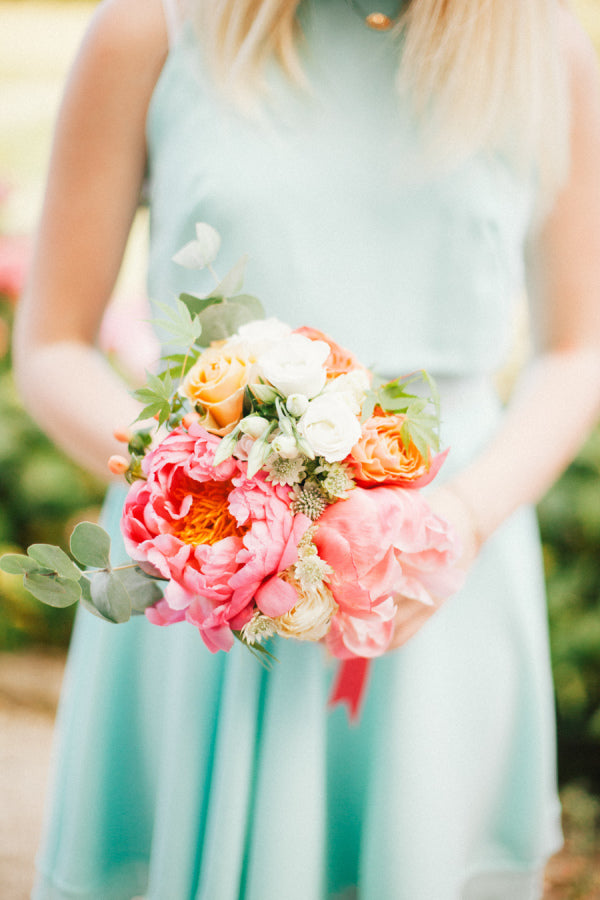 Lovely Peonies Wedding Bouquet