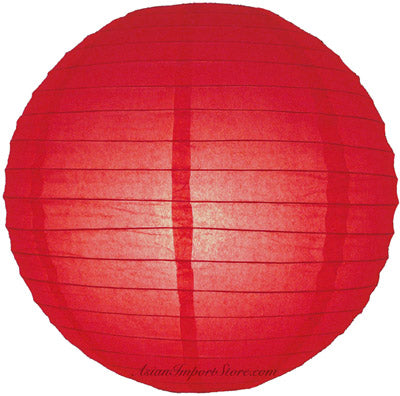 "MoonBright 12"" Red Paper Lantern Outdoor String Light Set (10-PACK Combo Kit)"