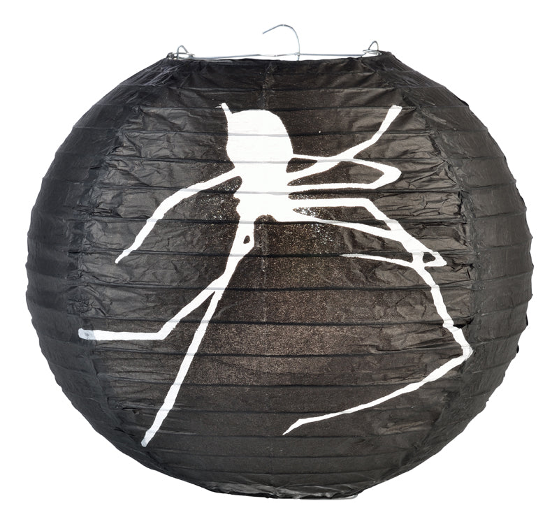 "BLOWOUT 10"" Spider Halloween Paper Lantern"
