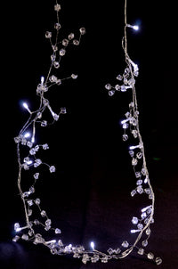 BLOWOUT 20 LED Decorative Acrylic Stone String Light Chain Garland, 4 FT Battery Operated