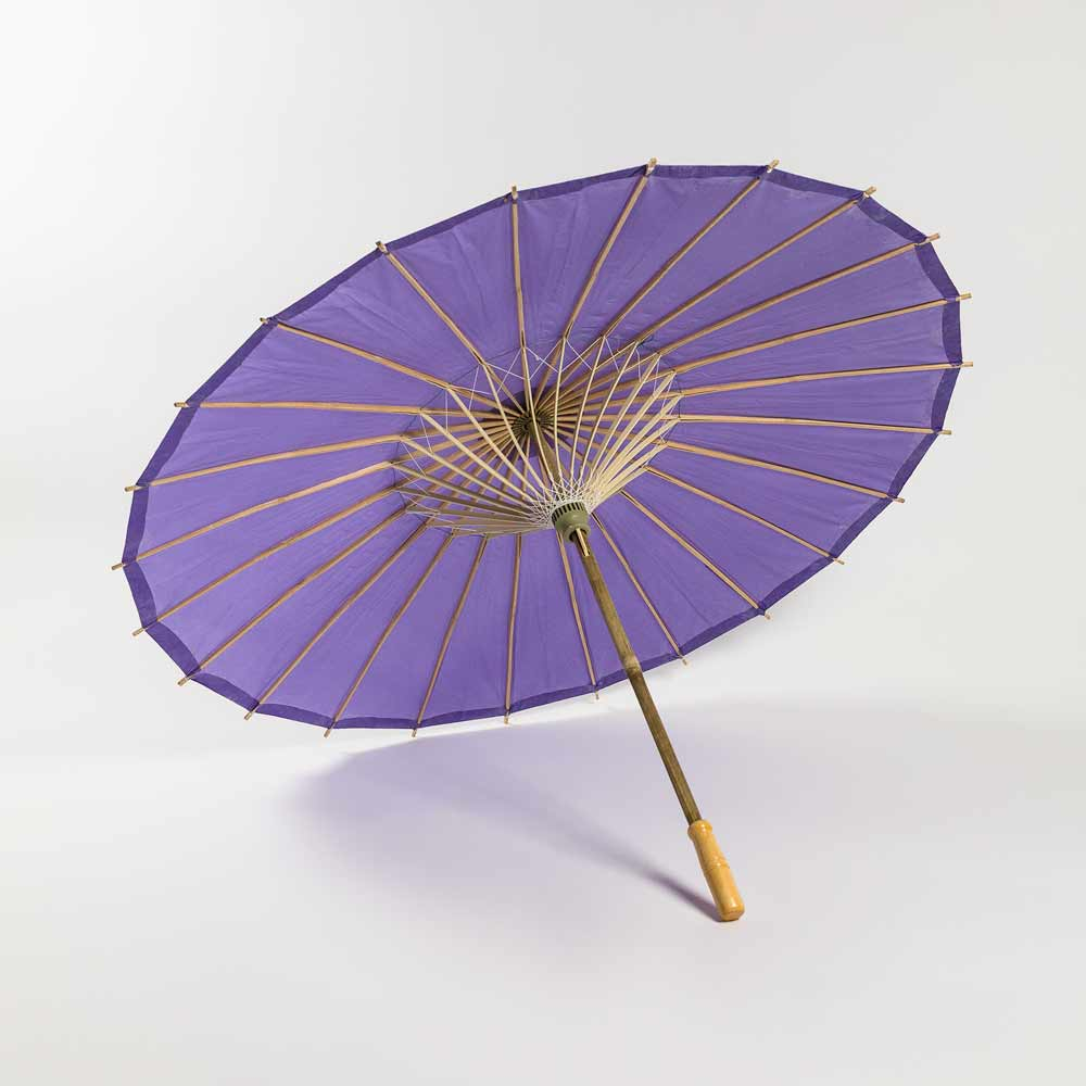 "32"" Purple Paper Paper Parasol Umbrella (Sun Protection)"