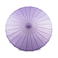 "32"" Lavender Paper Parasol Umbrella (Sun Protection)"