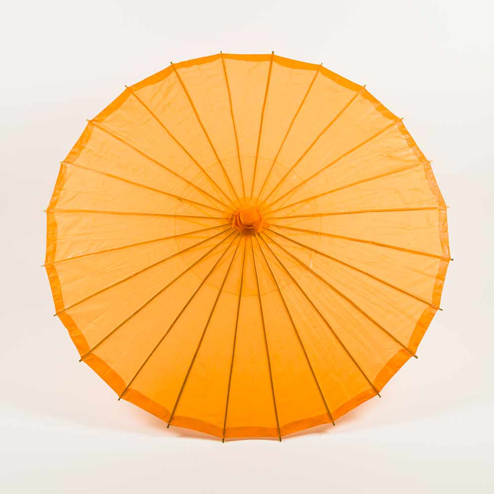 "32"" Orange Parasol Umbrella, Premium Nylon"