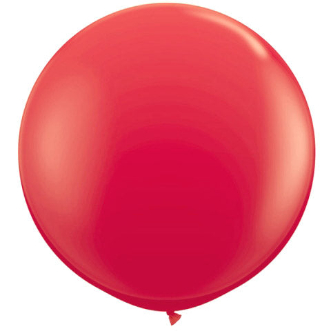 "BLOWOUT 36"" Red Round Party Latex Balloon Decorations (2 PACK)"