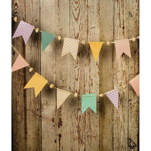 BLOWOUT Pastel Paper Small Pennant and Flag Banner - PaperLanternStore.com - Paper Lanterns, Decor, Party Lights & More