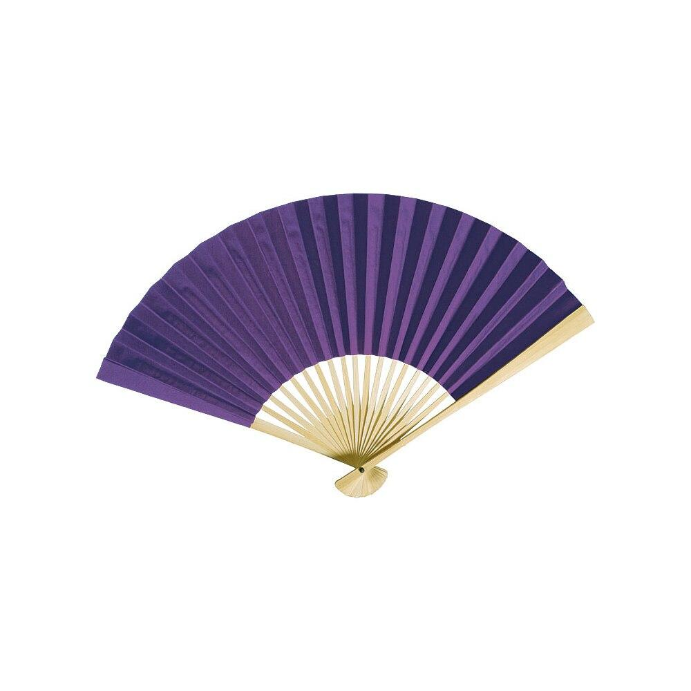 BLOWOUT Plum Purple Premium Paper Hand Fan, Set of 5 - PaperLanternStore.com - Paper Lanterns, Decor, Party Lights & More