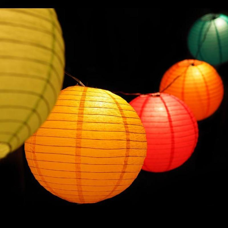 "12"" Cinco de Mayo / Fiesta Paper Lantern String Light COMBO Kit for Parties, Birthdays and any occasion(31 FT) - PaperLanternStore.com - Paper Lanterns, Decor, Party Lights & More"