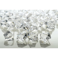 Clear Gemstones Acrylic Crystal Wedding Table Scatter Confetti Vase Filler (3/4 lb Bag)