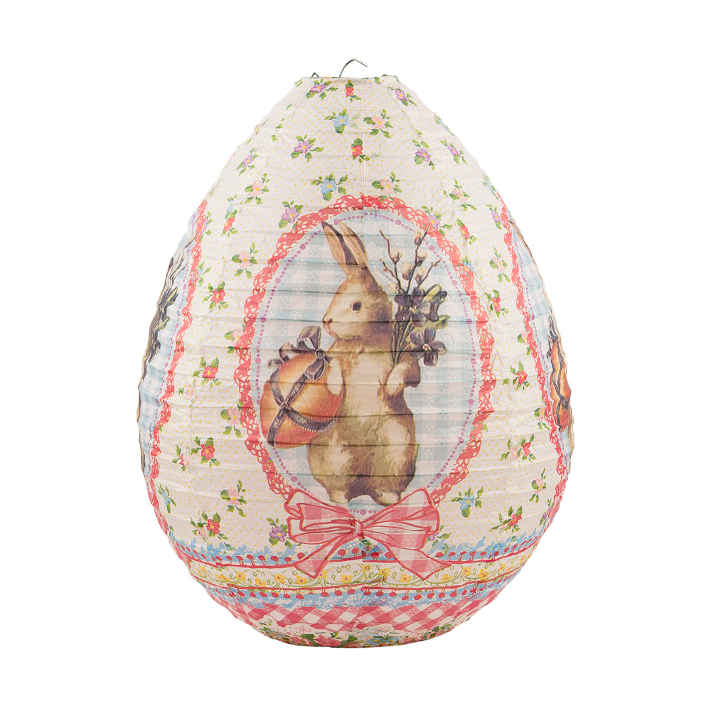 "14"" Easter Bunny Paper Lantern"