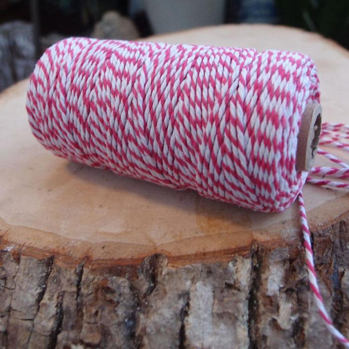 BLOWOUT Fuchsia Bakers Twine Decorative Craft String (110 Yards)