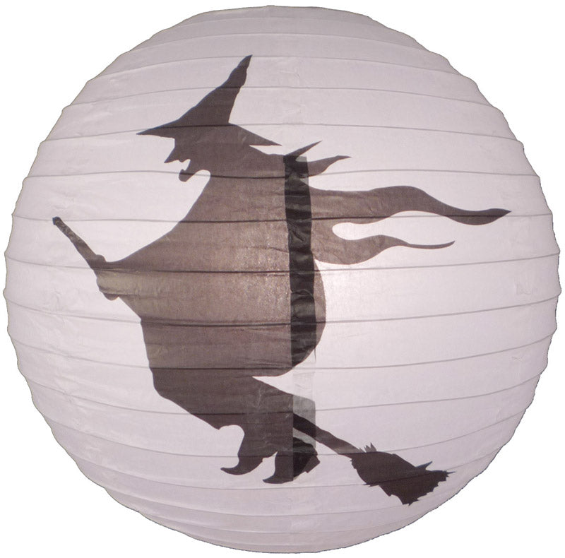 "BLOWOUT 16"" Flying Witch Paper Lantern"