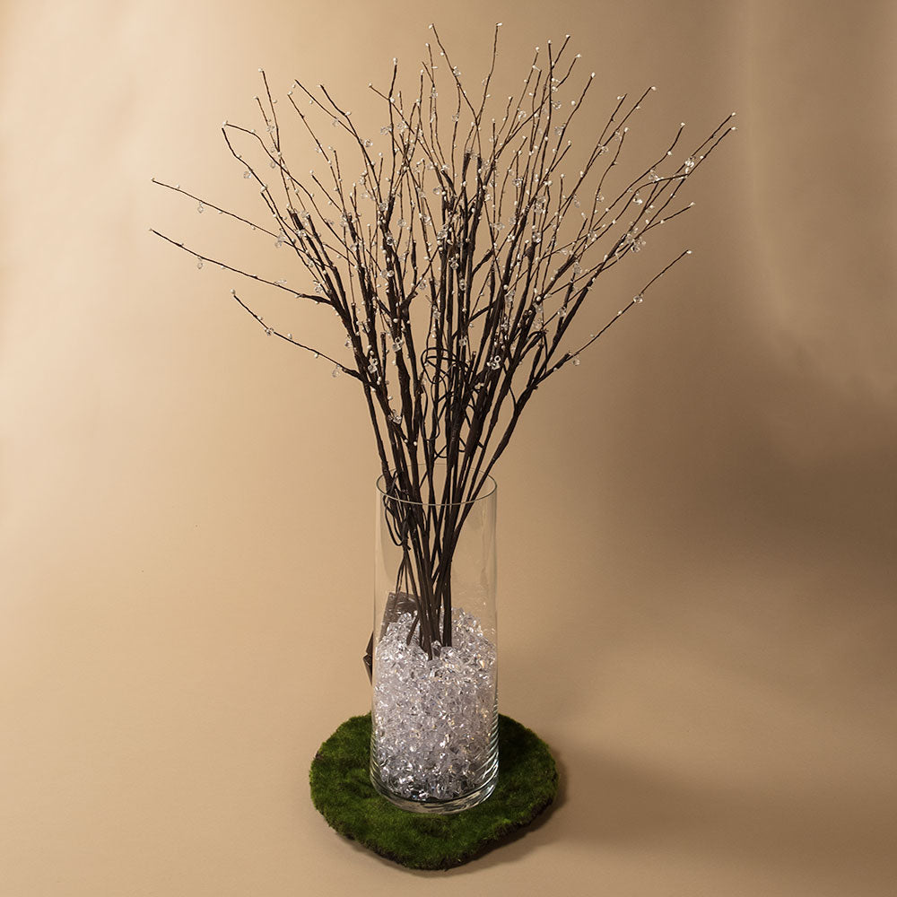 "32"" White LED Light Up Branches, Floral Decoration (Battery Operated)"