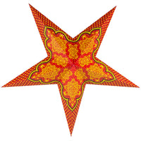 "24"" Arabian Paper Star Lantern, Chinese Hanging Wedding & Party Decoration"