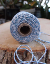 Light Blue Bakers Twine Decorative Craft String