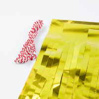 BLOWOUT Metallic Gold Tissue Paper Tassel Garland Kit (5-PACK)