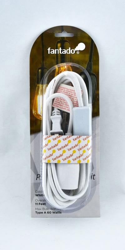 Plug-in Pendant with inline switch RM10 Yellow Rayon