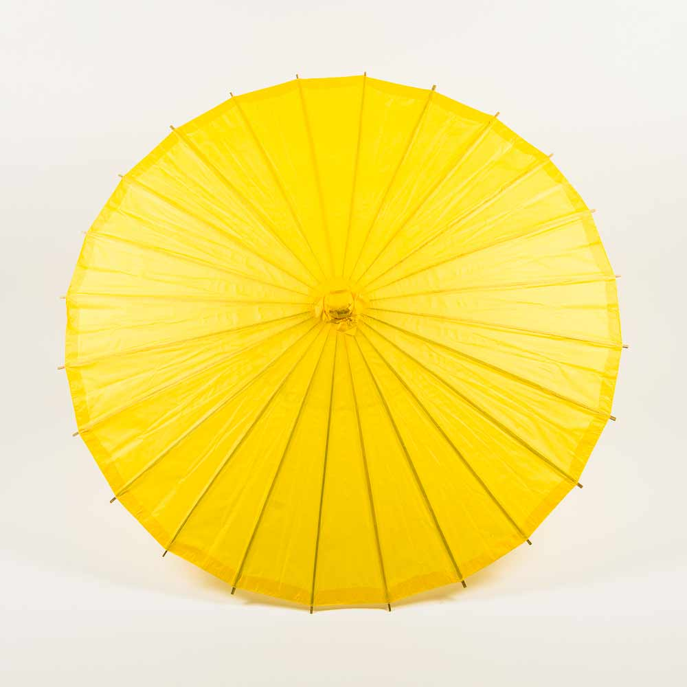 "32"" Yellow Paper Parasol Umbrella (Sun Protection)"