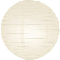 "MoonBright 12"" Beige Paper Lantern Remote Controlled LED Lights (10-PACK Combo Kit)"