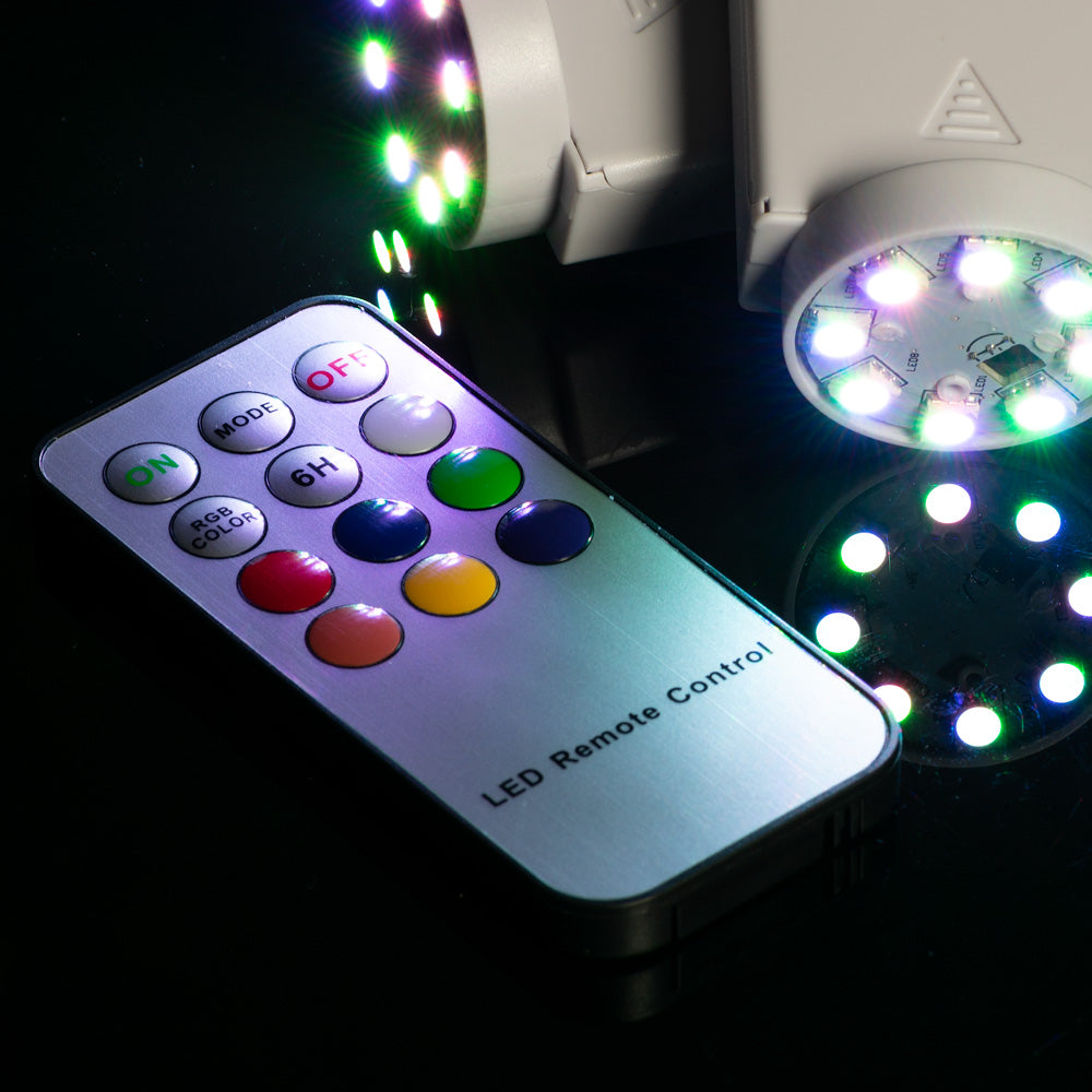 Fantado MoonBright™ Remote Control For Color-Changing Paper Lantern Lights 8LEDRMT-RGB / OMNILEDRMT-RGB - PaperLanternStore.com - Paper Lanterns, Decor, Party Lights & More