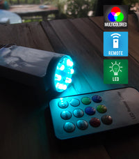 Fantado MoonBright™ 8-LED Multi Color Changing Battery Powered Light for Lanterns (Remote Control Sold Separately)