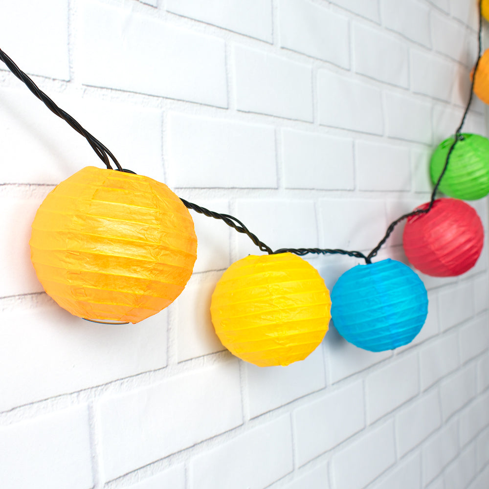 Multi Color Lantern Pack Of 3 Wedding Summer Hawaiian Party Decoration Accessory
