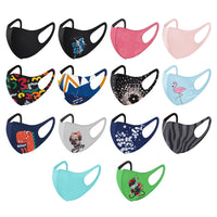 Kids Size Small Comfortable Face Mask Covering 3-ply Washable Reusable