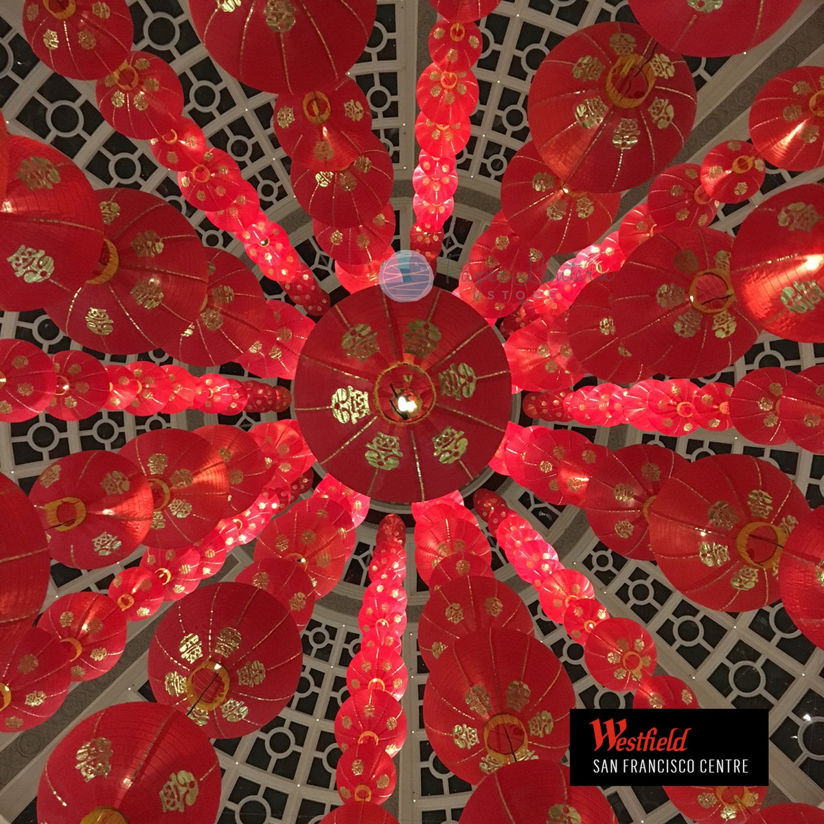 "36"" Jumbo Red Traditional Nylon Chinese Lantern with Tassel"