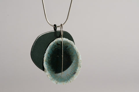 Dust Layer Pendant Forest/Teal