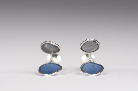 Edge Studs Blue/Grey