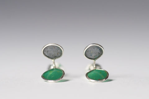 Edge Studs Green/Grey