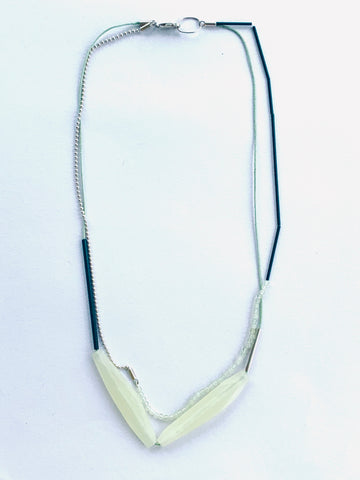 Layer Facet Necklace Sorbet