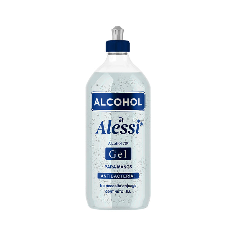 Alessi - Alcohol Gel 70% Antibacterial - 1 lt.