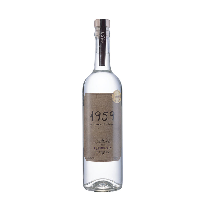 Finca 314 - Pisco Puro Quebranta ¨1959¨ - 500 ml