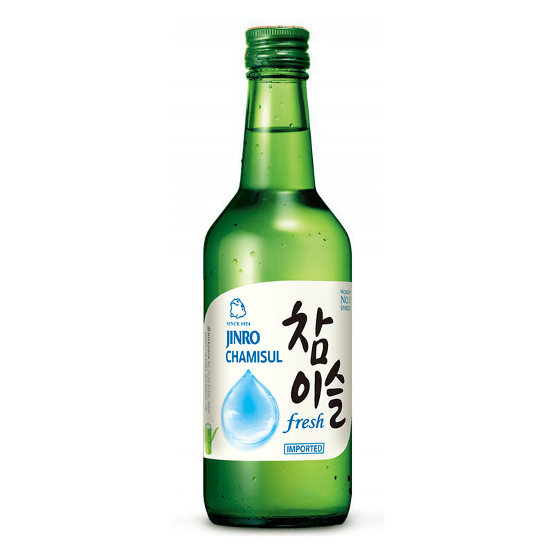 Jinro Chamisul - Soju Fresh - 17.8% alcohol - 360 ml.