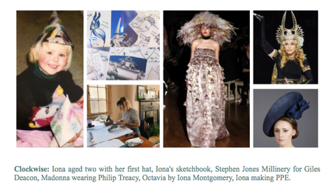 Iona Montgomery Millinery meet the maker interview
