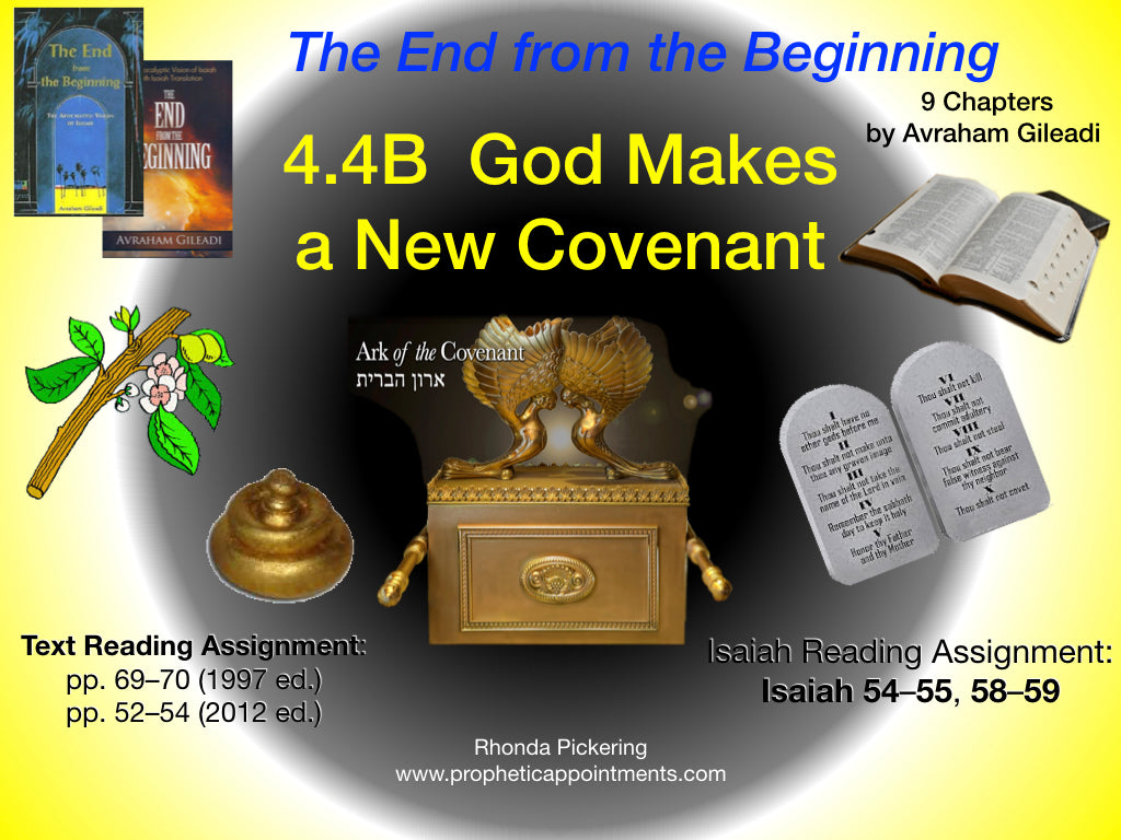 Lesson 14 (4.4B) God Makes a New Covenant
