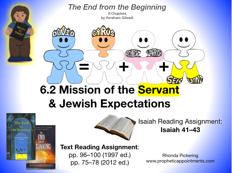 Lesson 19 (6.2B) Mission of the Servant