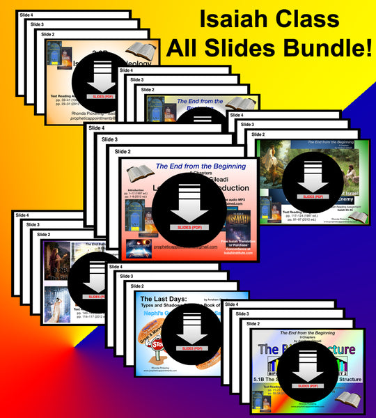 SLIDES - Isaiah Class Slides - All Slides Bundle (1–27)