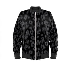 Leopard Jacket No Fixed Abode Designer Streetwear Black Mens