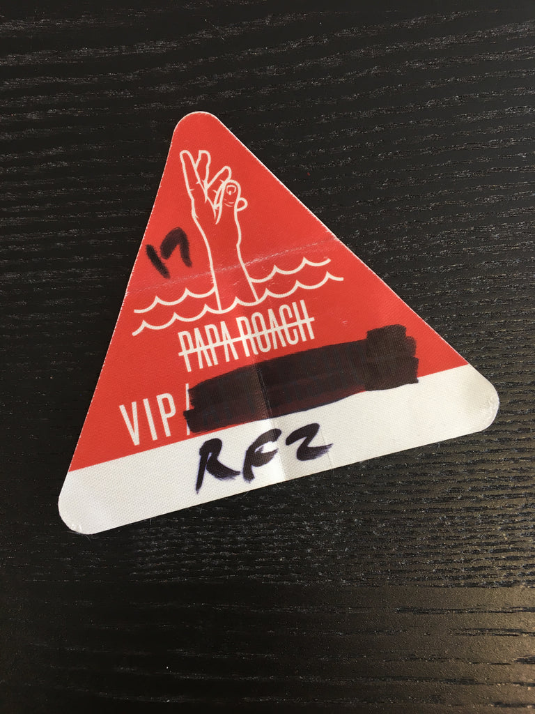 Papa Roach London All Access Pass UK Tour