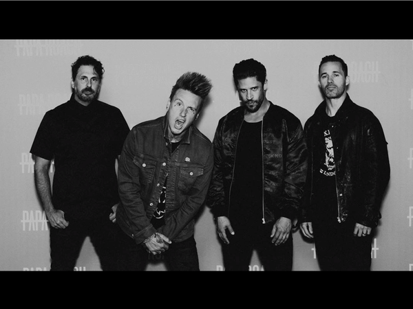 Papa Roach Jerry Guitarist Tobin bassist in No Fixed Abode Luxury Streetwear clothing Jacket and T-shirt
