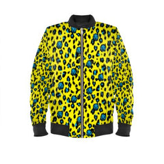 Leopard Jacket No Fixed Abode Designer Streetwear Yellow Mens Womens
